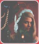 Santa Bunny: Galleta de Navidad - Santa ayudante encantador.